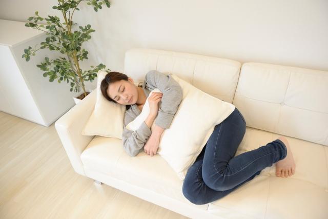 身体を休める