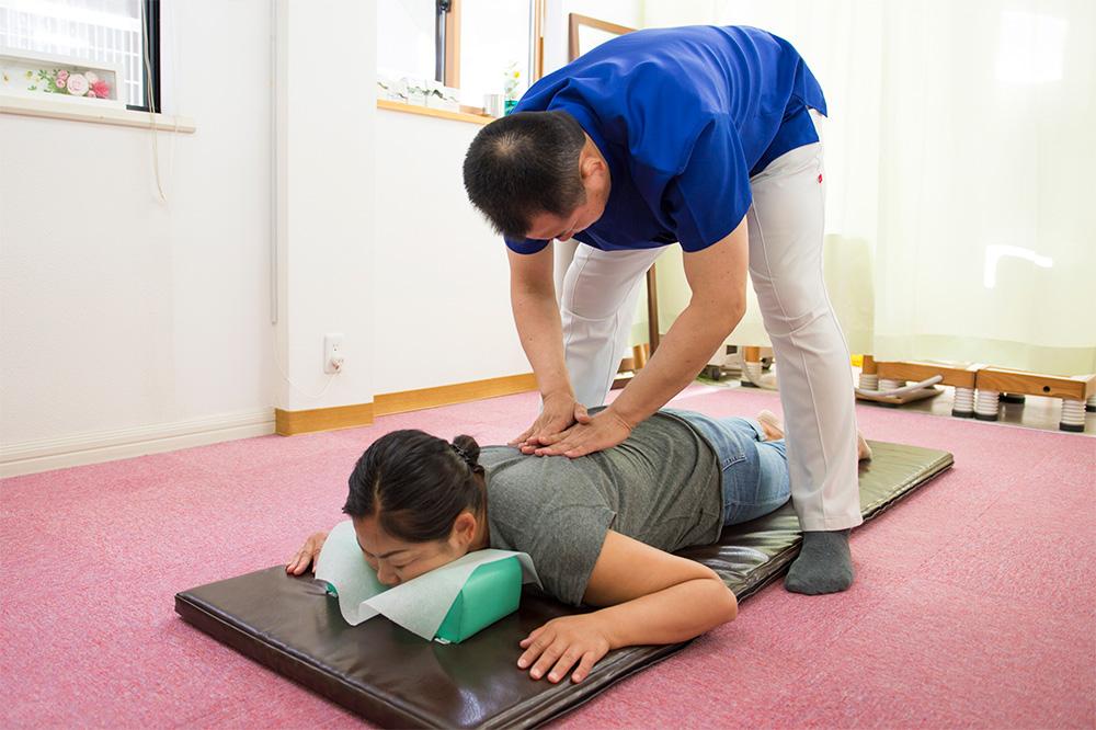 全身疲労・体調不良改善の治療2
